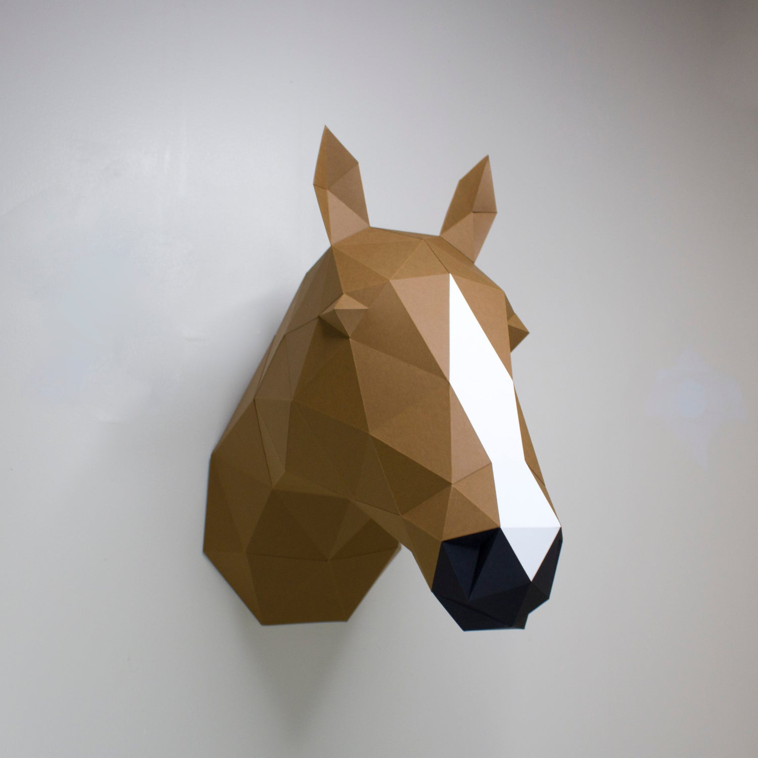 Gloria the Horse | DIY Papercraft Animal Kit