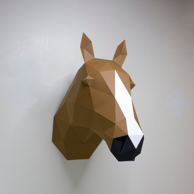 Gloria the Horse | DIY Paper Craft Animal Kit