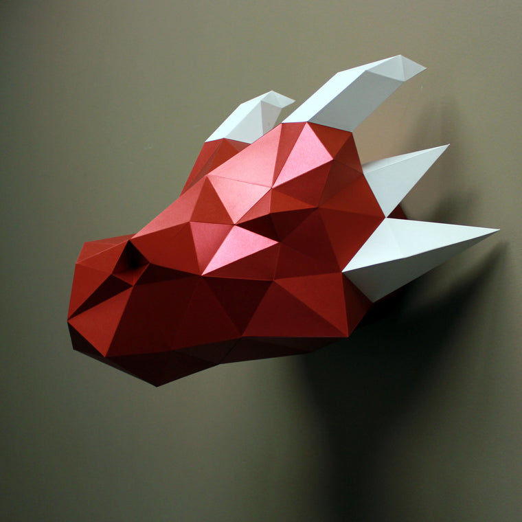 Jasper the Dragon | DIY Paper Sculpture Kit