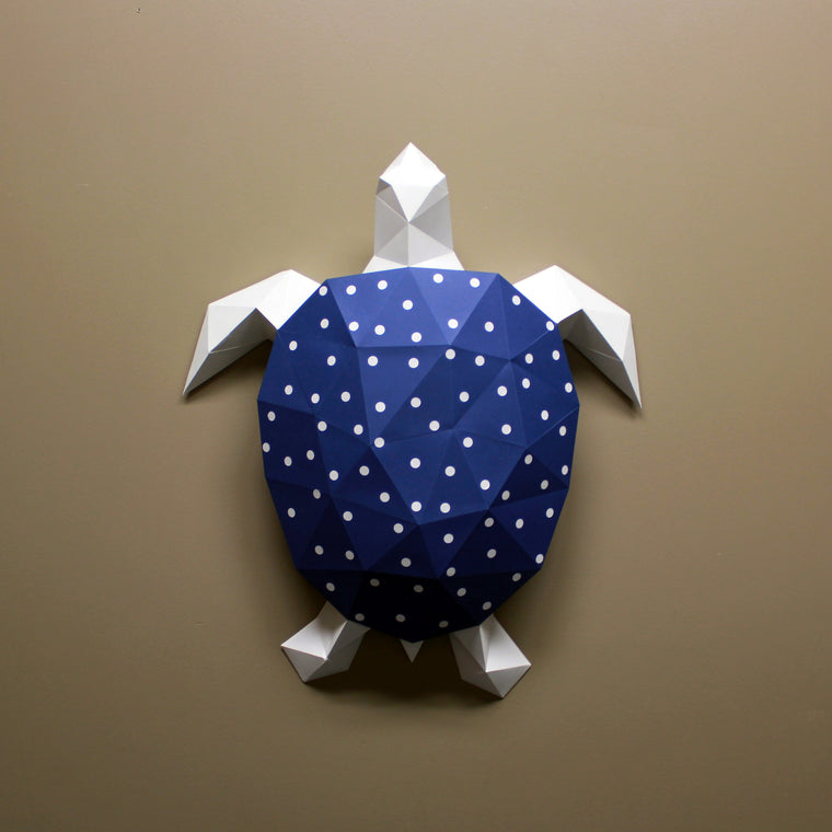 Donna the Turtle | DIY Papercraft Animal Kit