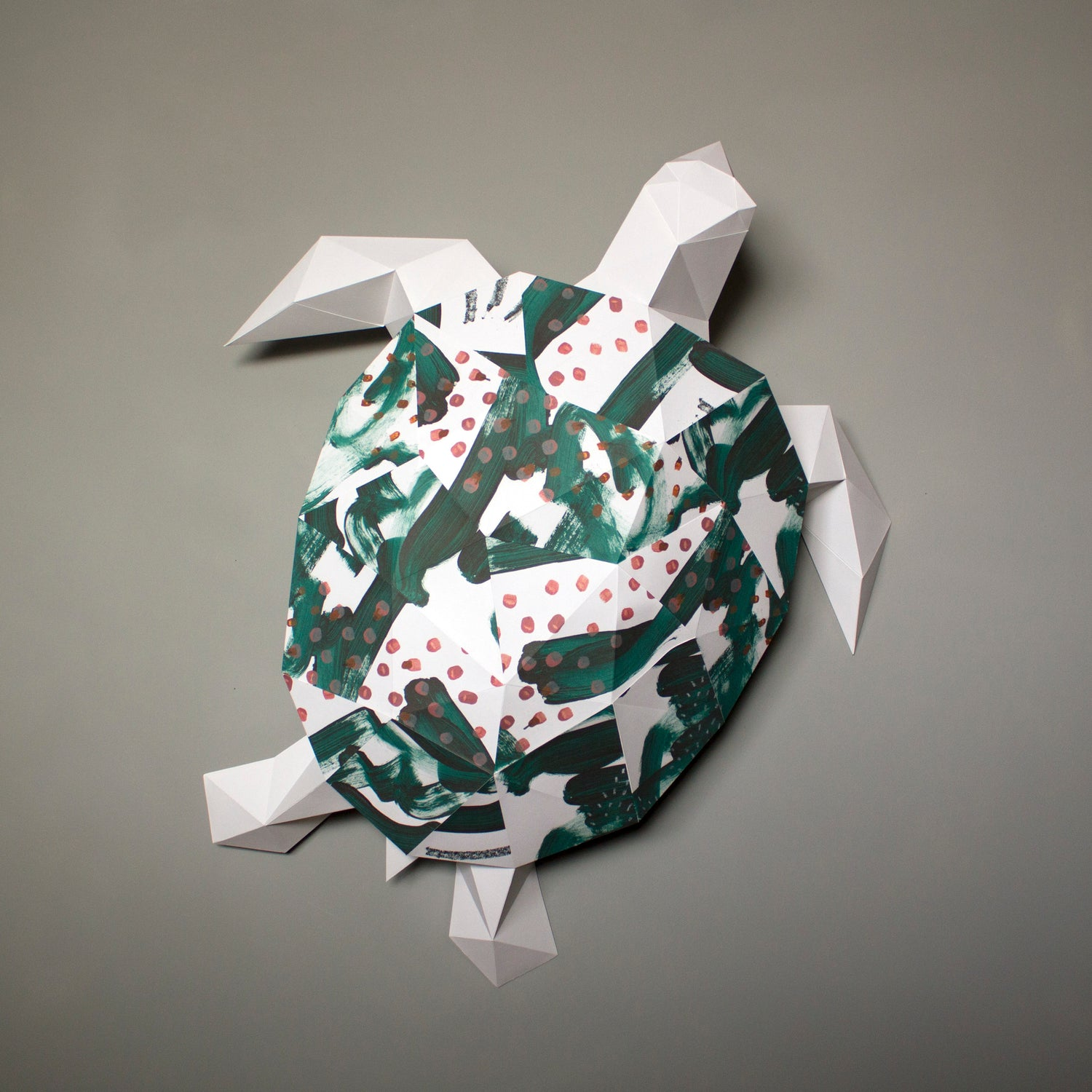 Turtle Papercraft Kit