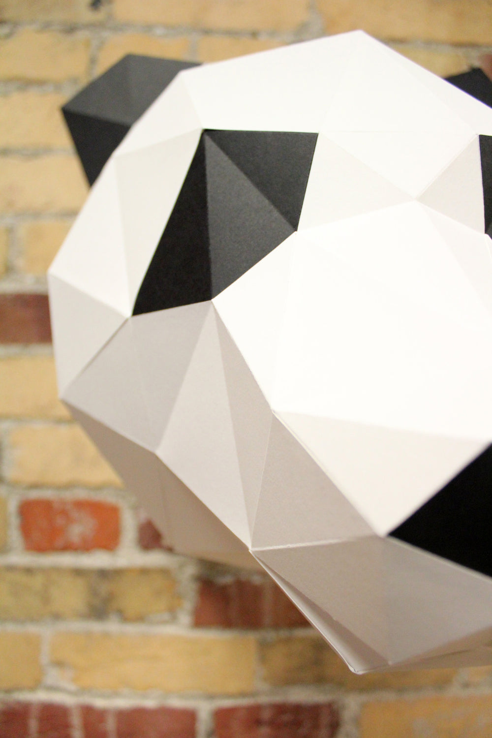 Panda DIY Paper Animal Sculpture