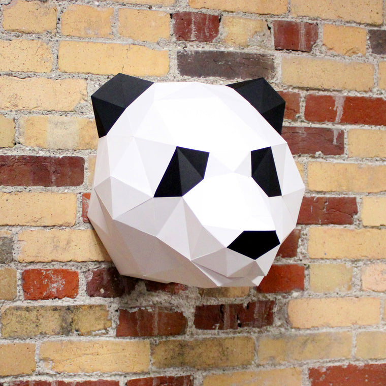 Claire the Panda | DIY Papercraft Animal Kit