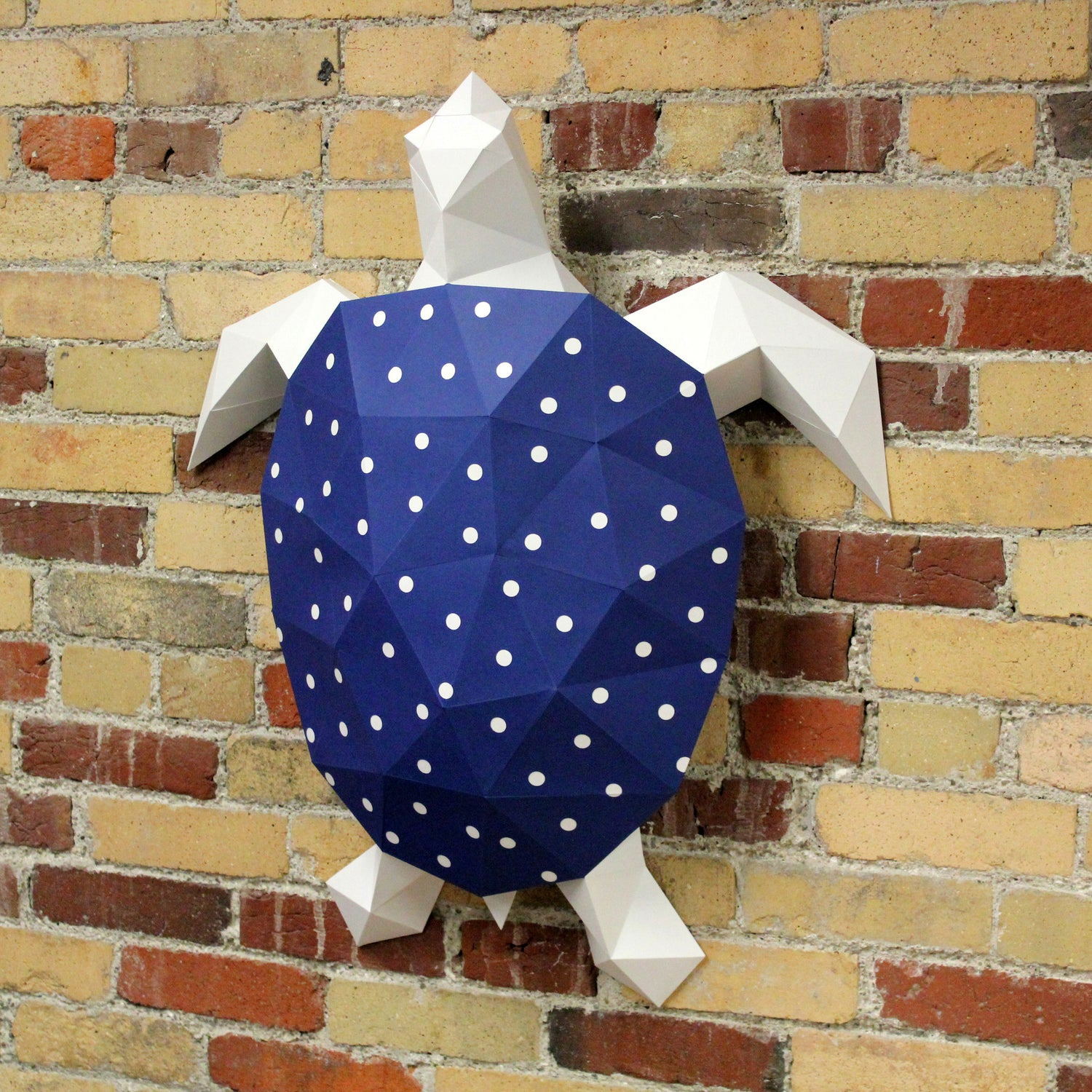 Turtle DIY Paper Animal Sculptures