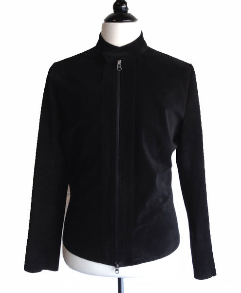 MN SJ11 Suede Motor Jacket Silk Lining - Some Things Dark