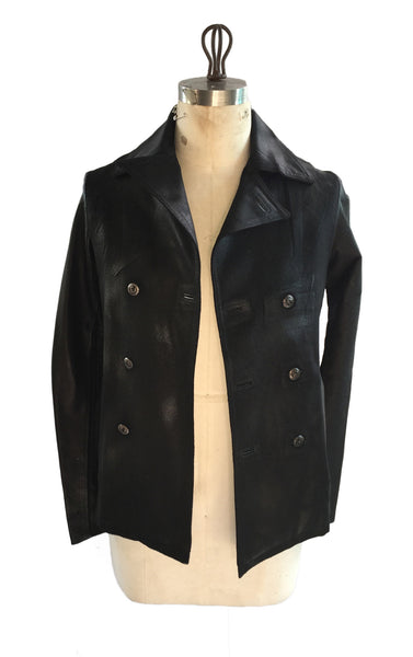 DR JK02 Vintage Waxed Wool D/B Jacket - Some Things Dark