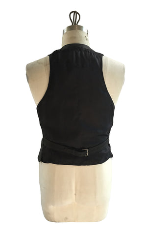DR VE01 Vintage Waxed Vest - Some Things Dark