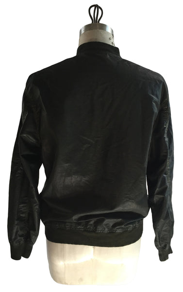 DR JK19 Bomber Jacket Double Zipper Front - Some Things Dark