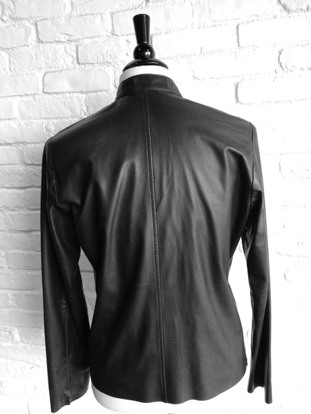 Lambskin Leather jacket no lining - Some Things Dark