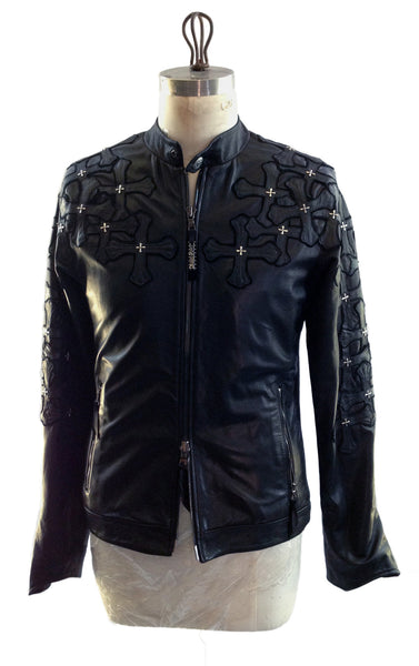 DR JK08 DR Multi Cross patched Jacket - Some Things Dark