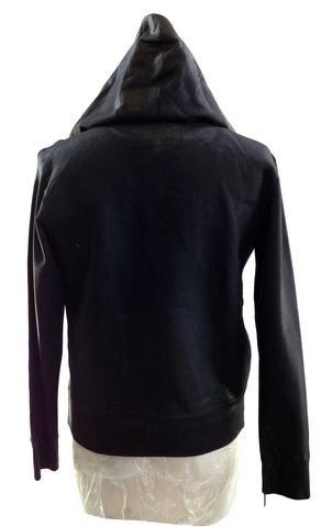 DR HO22 Waxed Cotton Hoodie - Some Things Dark