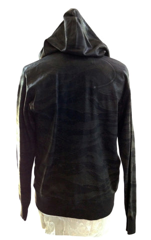 DR HO21 Camouflage Waxed Cotton Hoodie - Some Things Dark