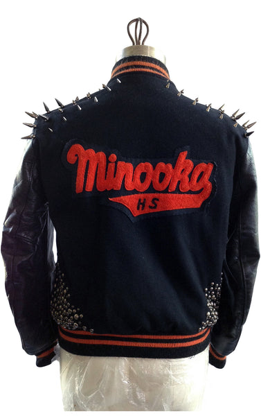 DR JK-TYGA Studded Varsity Jacket, Tyga - Some Things Dark