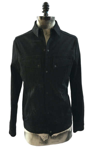BV JJ01 Denim Jacket Enzyme Wash Aged - Some Things Dark