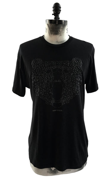 "BV TS14 100% Cotton T-shirt ""black Bear"" - Some Things Dark"
