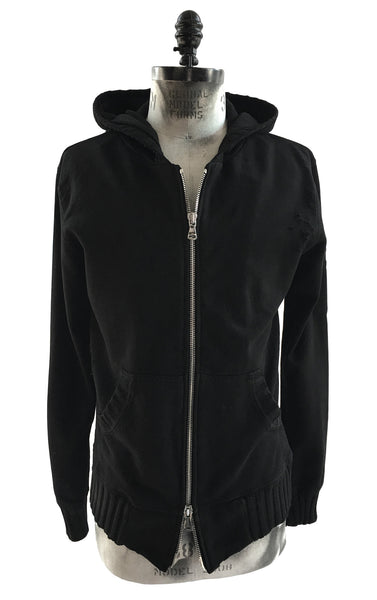 BV HO02 Hoodie Heavy Cotton Double Zipper Front - Some Things Dark