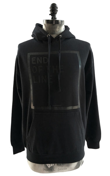 "BV HO03 Heavy Cotton Pullover Hoodie ""End Of The Line"" - Some Things Dark"
