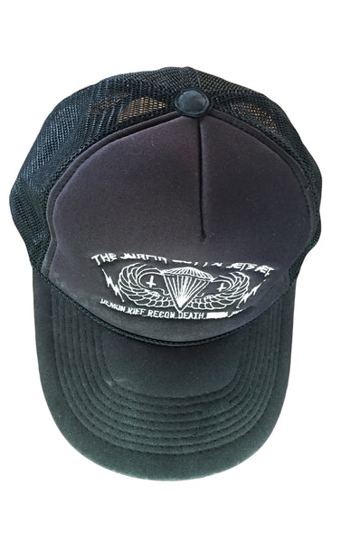 DR HA08 Trucker Hat w Embroidery, Net back - Some Things Dark