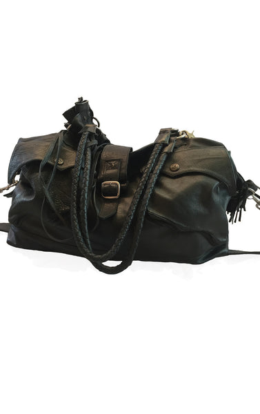DR BA04 Leather S&M Bag Full size - Some Things Dark