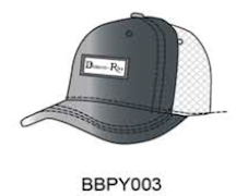 ZBBPY003 DR Python Baseball Cap sterling 925 button+plaque - Some Things Dark