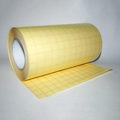 Applikeringstape, Medium styrke (30cm x 10m, Blank med backingpapir)