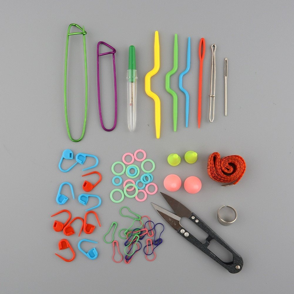 Knitting Tools Kit : Knit mate kit with case crochet knitting flurry things