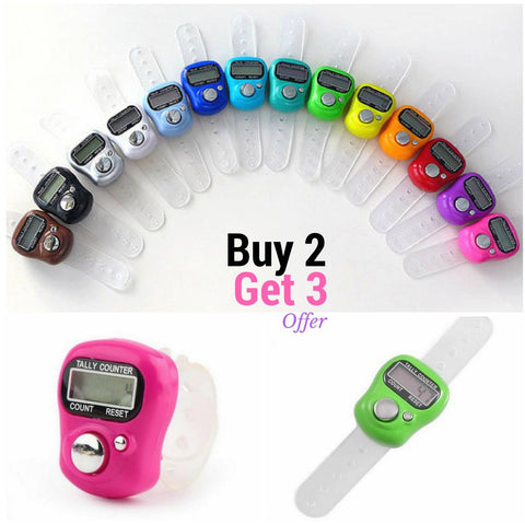 Buy 3 for 2 - Digital Knit Row Finger Counter