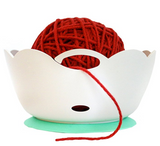 Image of Yarn Bowl - Portable, Unbreakable with Soft Rubberized Non-Slip Base