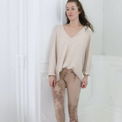 Gai+Lisva - Lena Leggings Rose Tie Dye