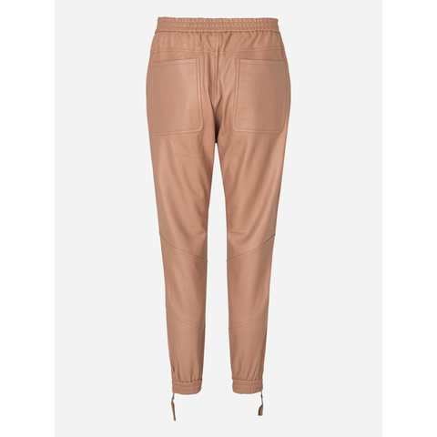 Munthe - Talca Leather Pants Camel