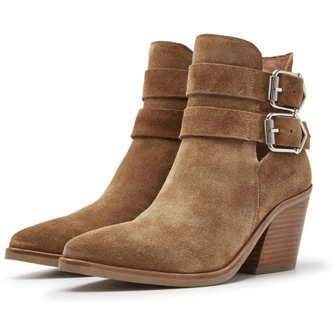Via Vai - Blake Shae Brown Ankle Boots