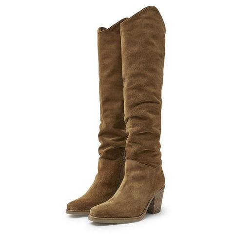 Via Vai - Anika Thrive Long Boots Brown