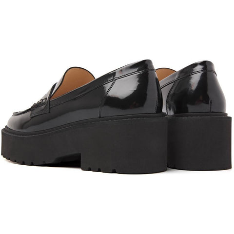 Via Vai Shoes - Lois Bell Loafers Black
