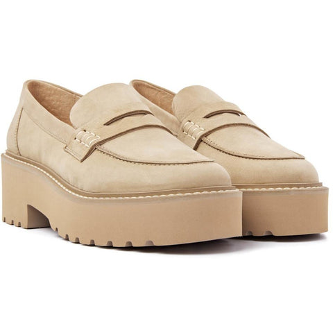 Via Vai - Lois Bell Beige Loafers