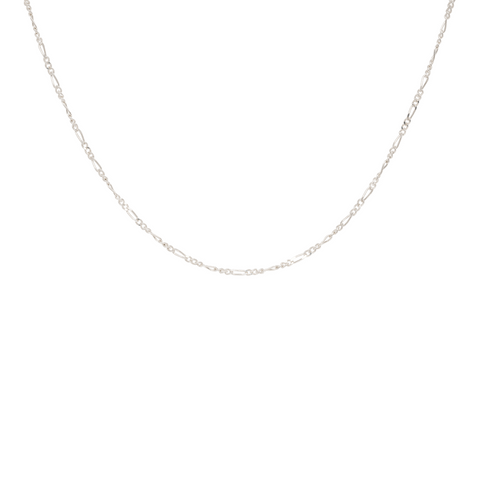 Anna + Nina - Twisted Plain Necklace long guld