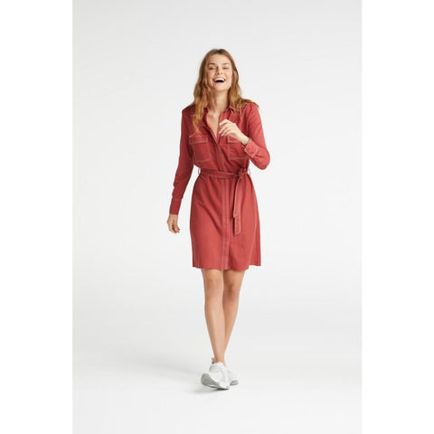YAYA - Shirt Dress W/Stitching