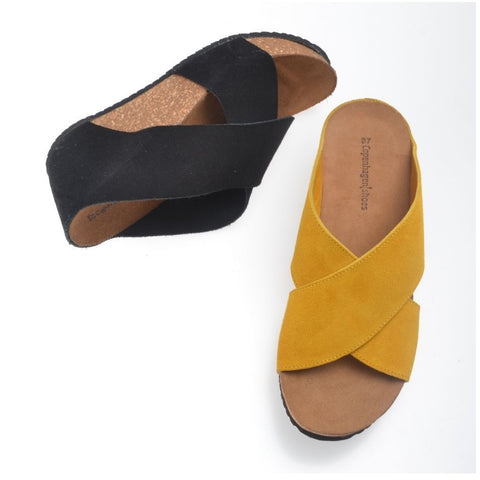 Copenhagen Shoes - Frances Sandal Yellow