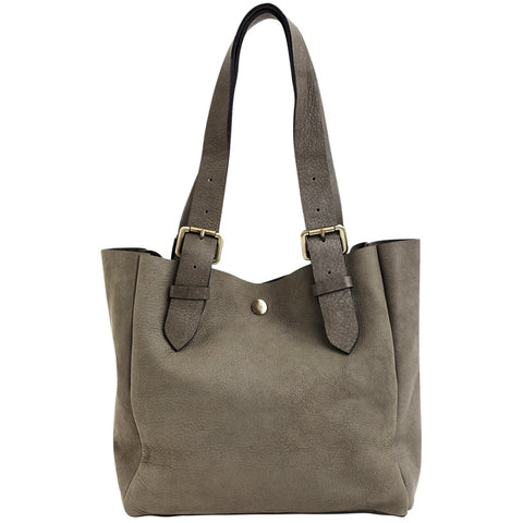 Rabens Saloner - Sanne Leather Small Bag Grey