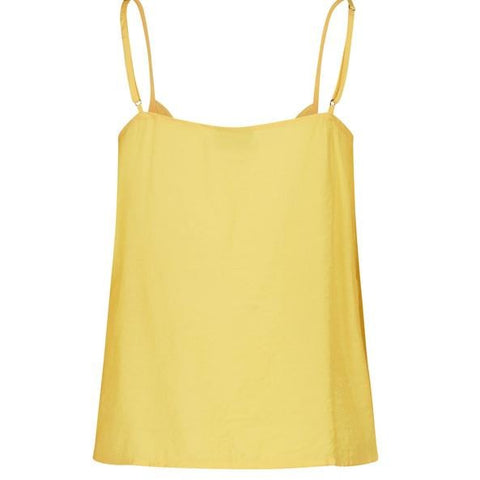 Moves - Tulli top yellow