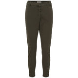 Rabens Saloner - Nelly Twill Relaxed Fit Pants Bone