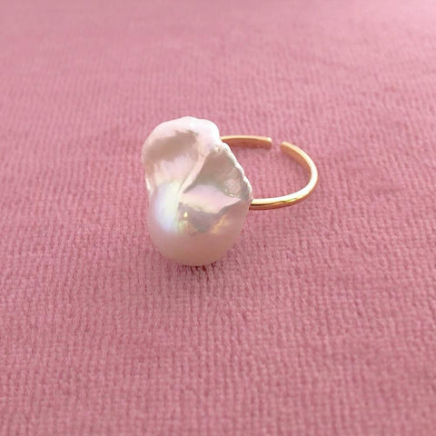 Sorelle - Baroque Fingerring Pearl