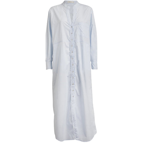 Rabens Saloner - Rossie Long Shirt Light Blue