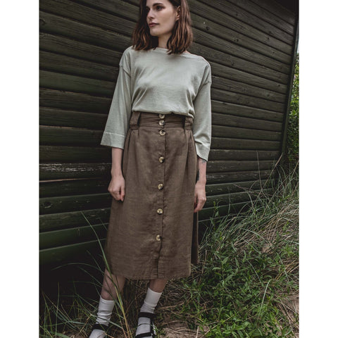 Esme Studios - Tasja Skirt Dusty Green