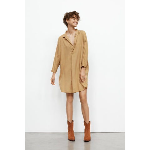 Rabens Saloner - Jona Shirt Dress Oak