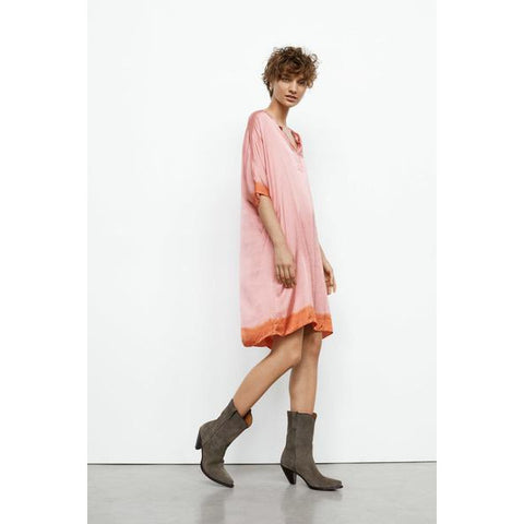 Rabens Saloner - Kari Dress Pink/Terracota