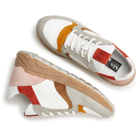 Via Vai - LIMITED EDITION Sneakers Swami Tide Bianco Ananas