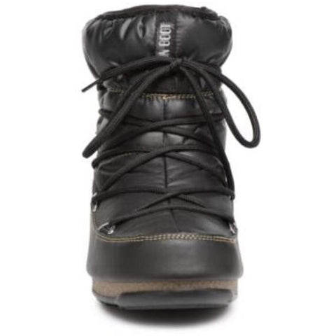 Moon Boot - Black nylon støvle