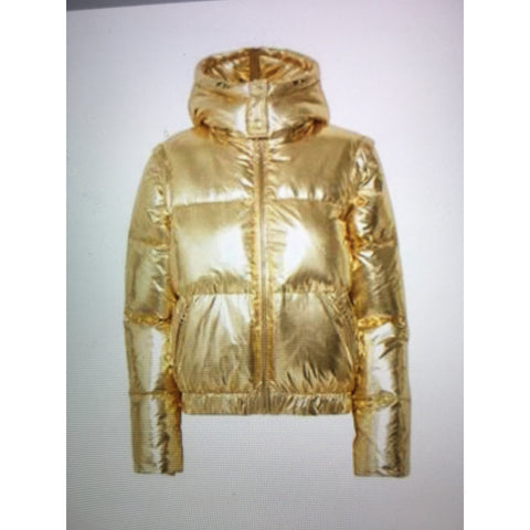 Gestuz Gold Metallic Jakcet