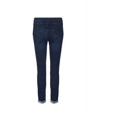 Mos Mosh - Naomi Shine Pant Dark Denim