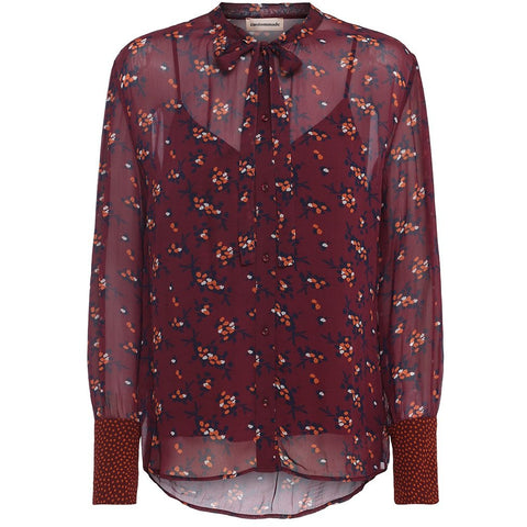 6ef6c202925e Custommade - Christelle Shirt Tawny Port